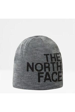 The North Face Reversible Banner Mütze Tnf Medium Grey Heather/tnf Black Größe Einheitsgröße Damen
