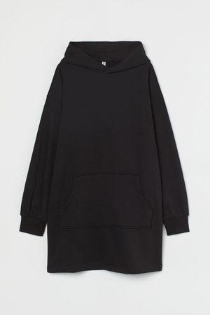 H&M Sweatkleid mit Kapuze