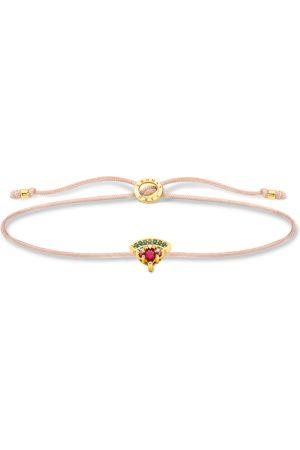 Thomas Sabo Damen Armbänder - Armband Little Secret Wassermelone gold mehrfarbig