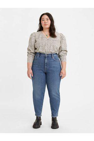 Levi's High Waisted Taper Fit Jeans (Plus Größe) - Indigo / Indigo
