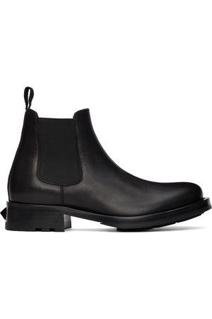 Valentino Garavani Herren Chelsea Boots - Black Roman Stud Chelsea Boots