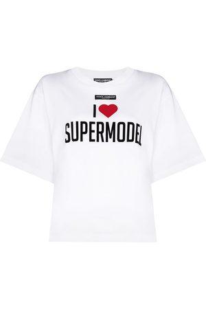 Dolce & Gabbana Oversized-T-Shirt mit Print