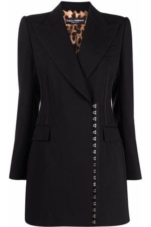Dolce & Gabbana Damen Mäntel - Mantel mit seitlichem Verschluss