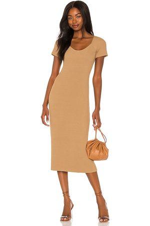 LINE & DOT Melissa Midi Sweater Dress in . Size S, M, L.
