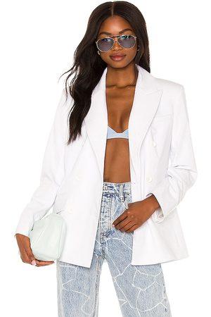 L'Academie Coco Double Breasted Blazer in . Size XXS, XS, S, M, XL.