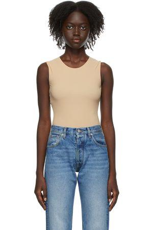 Maison Margiela Beige Jersey Second Skin Bodysuit