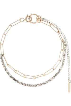 Justine Clenquet Silver & Gold Pixie Choker