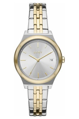 DKNY Uhr Parsons Three-Hand Date Stainless Steel Watch bunt