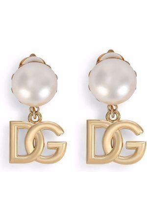 Dolce & Gabbana Ohrclips mit Logo