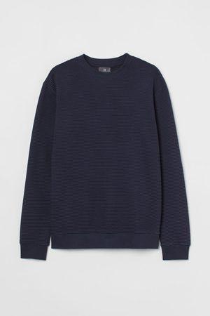 H&M Shirt in Strukturjersey