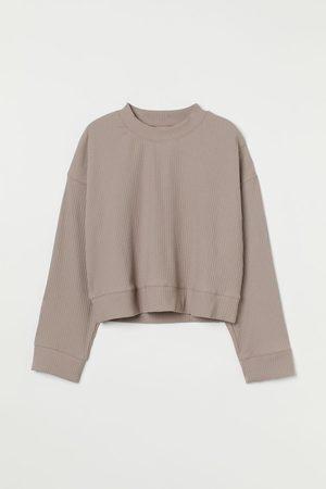 H&M Geripptes Shirt