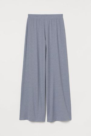 H&M Gerippte Pyjamahose