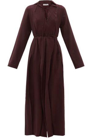 Palmer/harding Palmer//harding - Emotions Unfold Wool-twill Maxi Dress