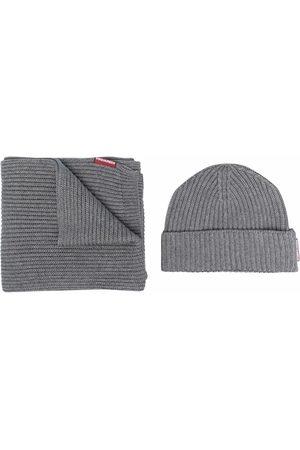 Dsquared2 Herren Schals - Set aus Schal und Mütze
