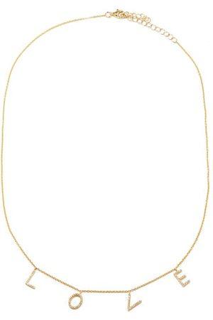 Rosa De La Cruz Love Diamond & 18kt Necklace