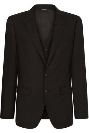 Dolce & Gabbana Dreiteiliger Anzug mit schmalem Schnitt