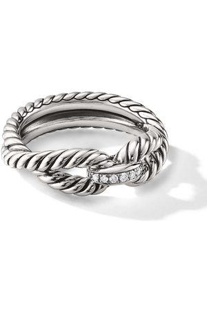 David Yurman Damen Armbänder - Cable Armspange mit Diamanten