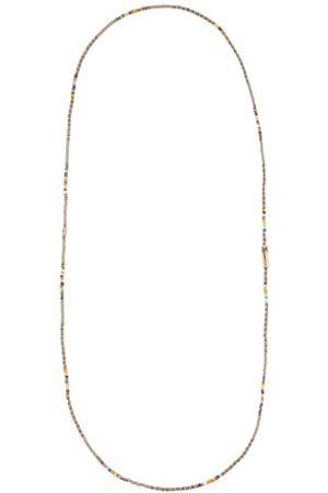 Luis Morais Glass Beads & 14kt Necklace