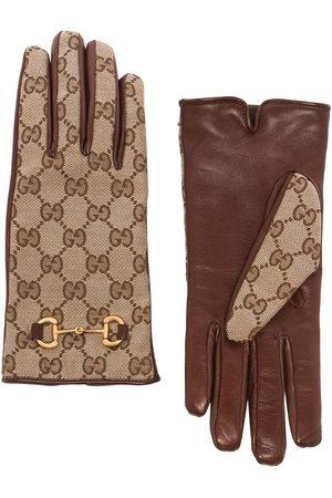 Gucci Handschuhe aus GG Supreme
