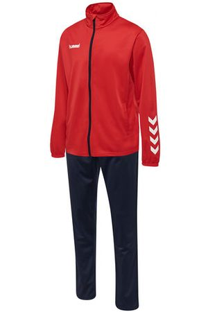 Hummel HmlPROMO POLY SUIT, TRUE RED/MARINE, S