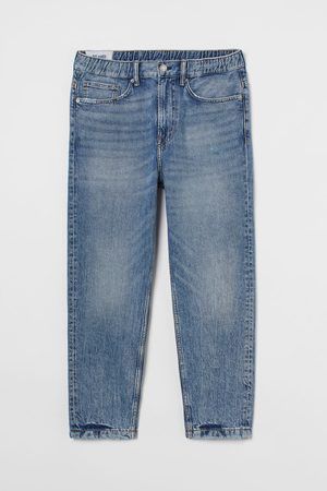 H&M Relaxed Tapered Pull-On Jeans