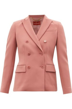 Altuzarra Indiana Double-breasted Cady Suit Jacket