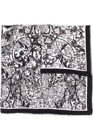 Philipp Plein Schal mit Barock-Print