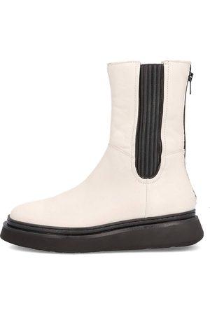 Mjus High Top Chelsea Boots in cremeweiß, Boots für Damen