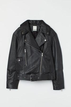 H&M Bikerjacke aus Leder