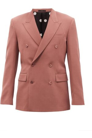 Paul Smith Double-breasted Wool-twill Suit Jacket