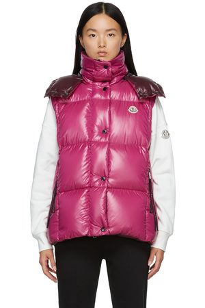 Moncler Pink Down Luzule Vest