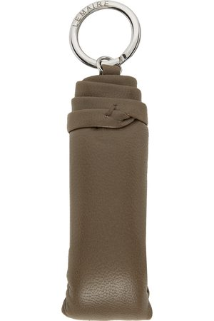 LEMAIRE Grey Wadded Keychain