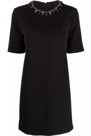 Philipp Plein Kristallverziertes Kleid