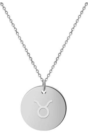 GOOD.designs Kette Mit Anhänger Horoskop Kette Stier in , Schmuck für Damen