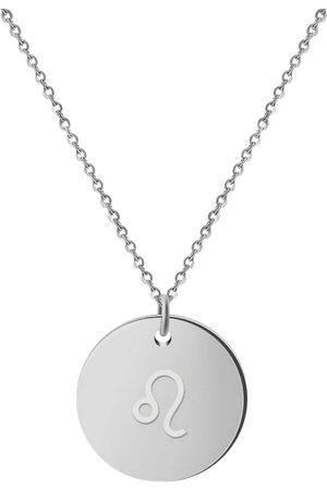 GOOD.designs Damen Halsketten - Kette Mit Anhänger Horoskop Kette Loewe in , Schmuck für Damen