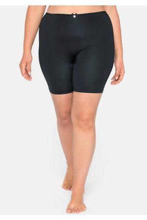 Sheego High-Waist-Slip mit langem Bein, Microfaser
