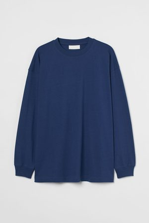 H&M Langarmshirt aus Baumwolle