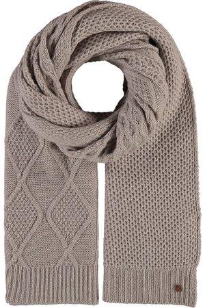 FRAAS Damen Schals - Grobe Strick-Stola In Kaschmirmischung in taupe, Tücher & Schals für Damen