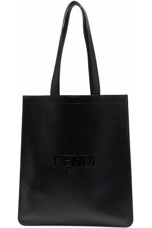 Fendi Shopper mit Logo-Prägung