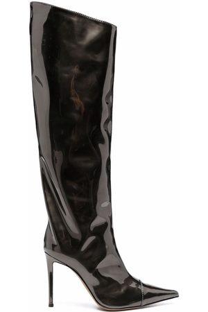 Alexandre Vauthier Kniehohe Stiefel mit Stiletto-Absatz