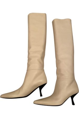 The Row Bourgeoise Leder Stiefel