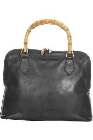 Gucci Vintage Damen Geldbörsen & Etuis - Pre-owned Bamboo Leather Satchel , Damen, Größe: One size