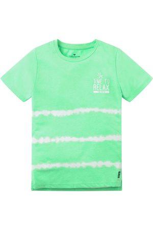 TOM TAILOR Jungen Batik T-Shirt mit Print, , Gr.104/110