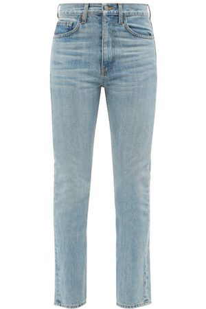 Brock Collection Wright Cropped Slim-leg Jeans