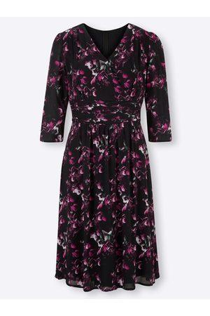 Ashley brooke Druck-Kleid in -magenta-bedruckt von