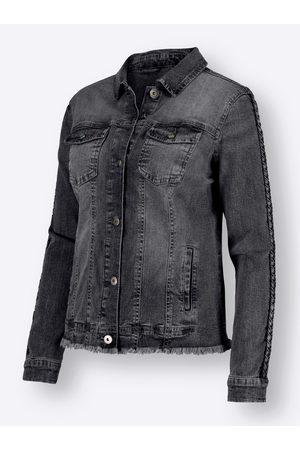 Heine Jeans-Jacke in anthrazit-denim von