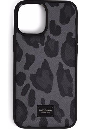 Dolce & Gabbana IPhone 12 Pro Max-Hülle mit Leo-Print