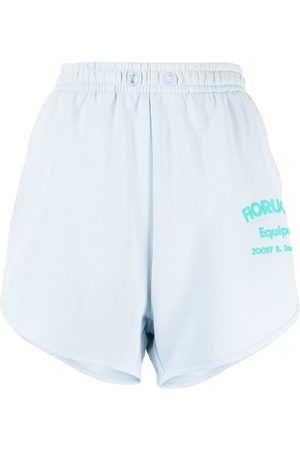 Fiorucci Damen Shorts - Shorts mit Logo-Print