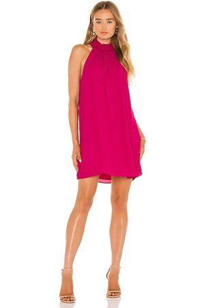 krisa Smocked Turtleneck Shift Dress in . Size M, S, XS.