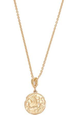 Azlee Pegasus Diamond & 18kt Necklace